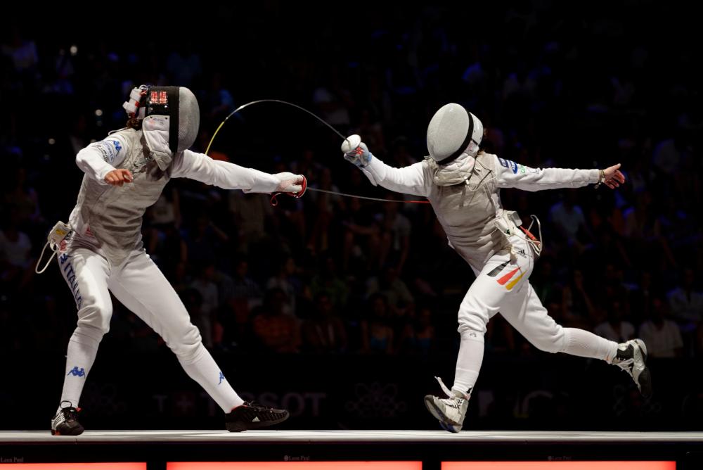 fencing finals